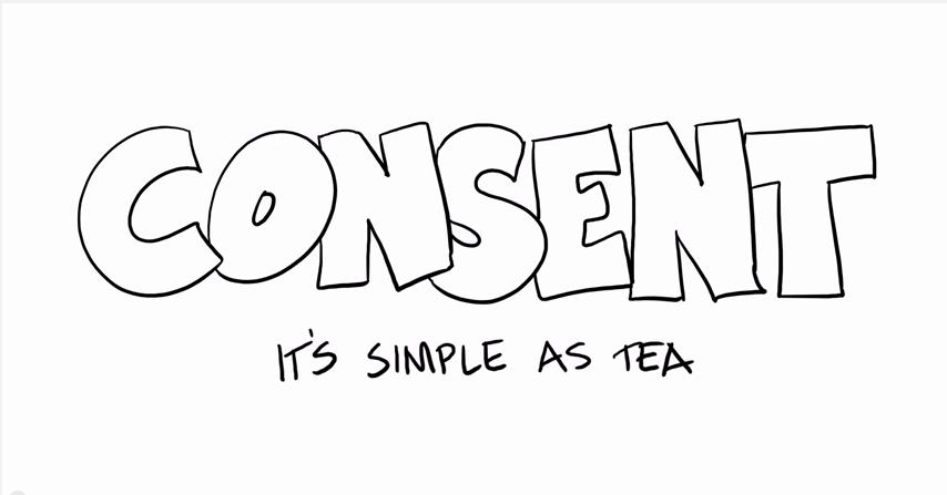 Tee und Zustimmung